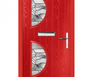 red door mail slot