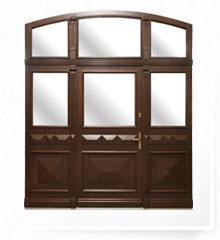 aluclad exterior door