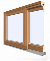 aluclad lift and slide patio door