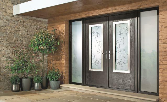 inward opening front door
