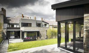 aluclad patio corner door