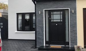 timber door and pvc windows